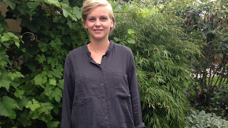 Elin Jacobsson är florist och ska tävla i nordiskt mästerskap i blomsterbinderi nu i helgen.