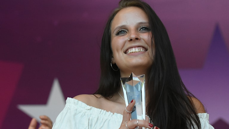 """Louise Lövqvist vinner med låten """"Keep Burning"""""""