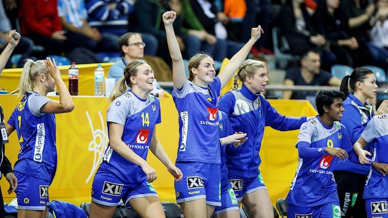 Handbollsspelarna i Sveriges dam- och herrlandslag har samma ersättning.