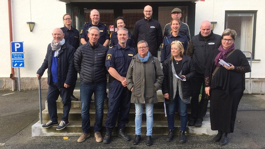 Körskolor, hundklubbar, polis och försäkringsbolag i projekt Vaksam samlades i Sjöbo idag.
