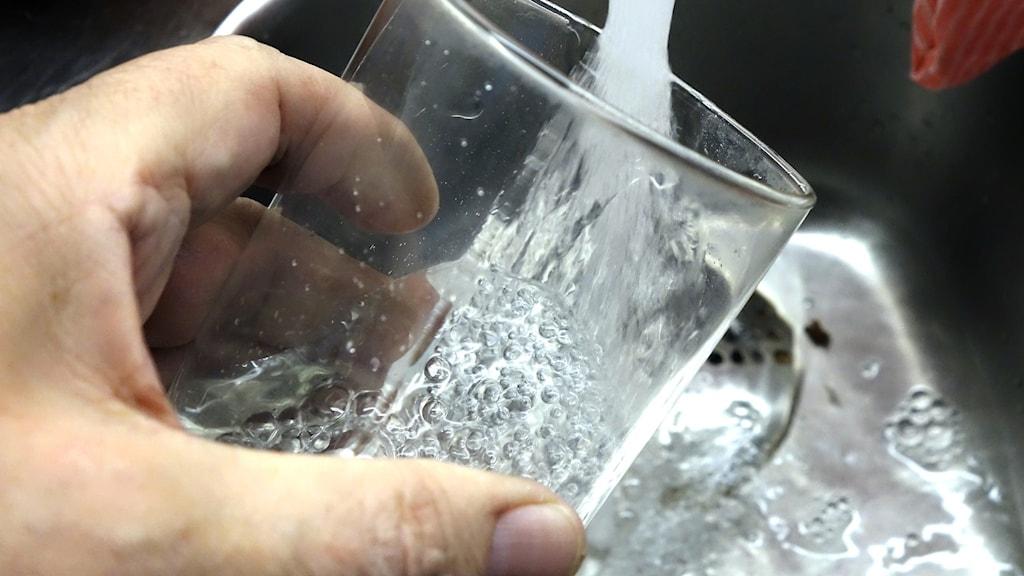 Dricksvatten.