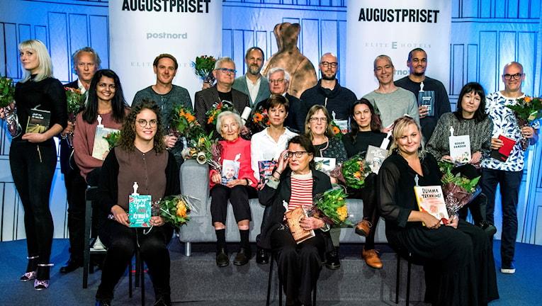 De nominerade till 2017 års Augustpris.
