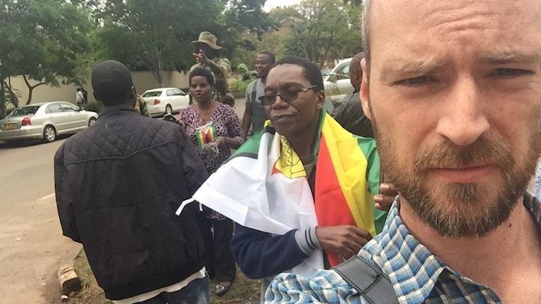 Samuel Larsson, Afrika-korrespondent för Sveriges Radio