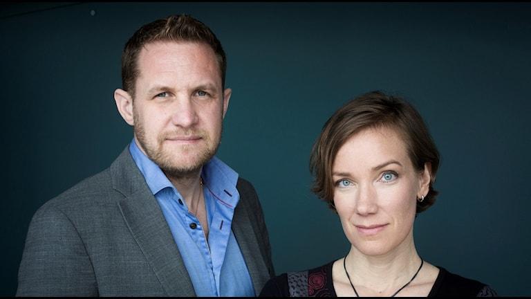 David Widlund och Monica Walldén.
