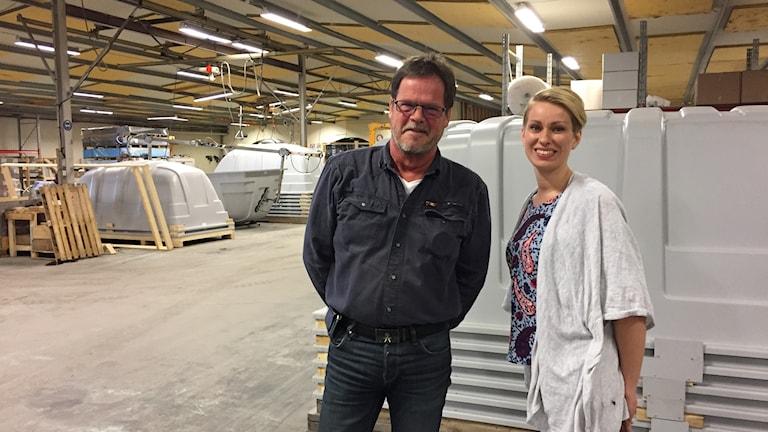 Håkan Jakobsson ja Ida Hjort-Rova
