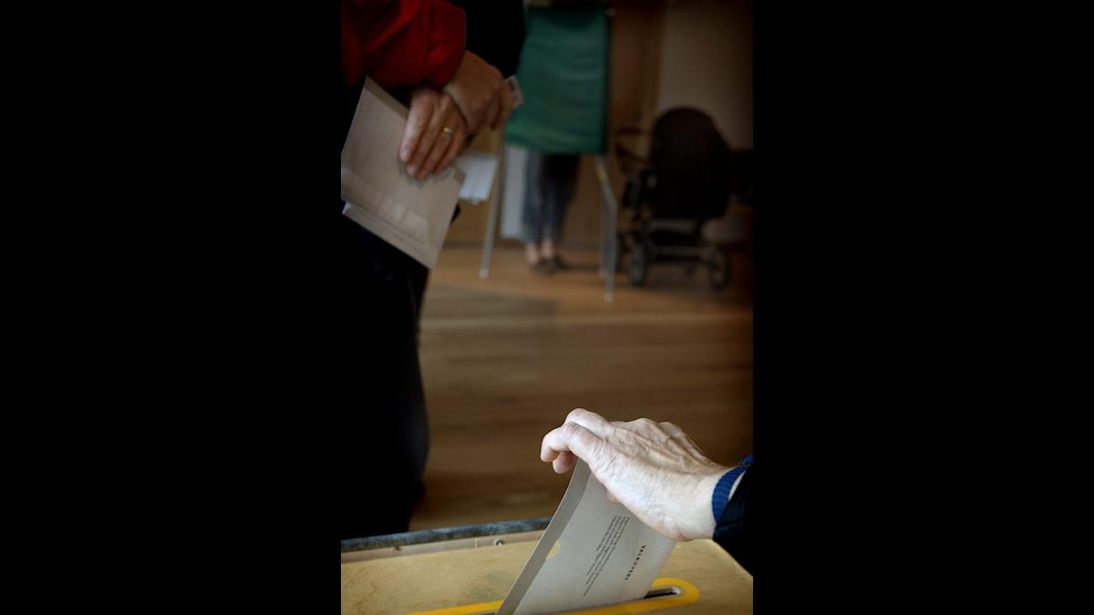 Stundande val i Finland.