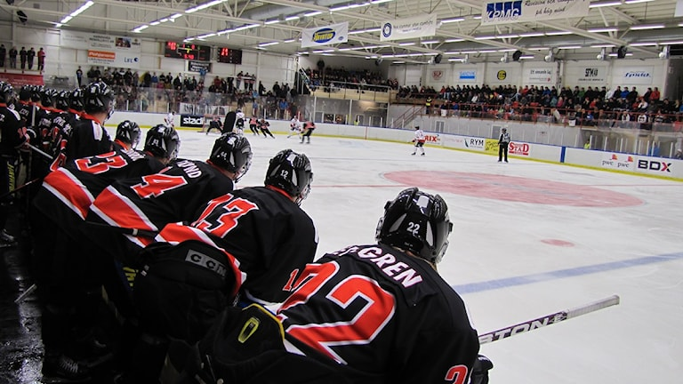 Asplöven hockey. Foto: Bertil Isaksson.
