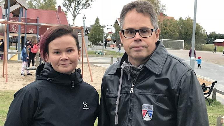 Tiina Karumo och Tomas Jonsson, Ersnäs
