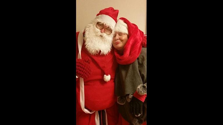 Joulupukki ja Joulumuori. Foto: Anne Angeria.