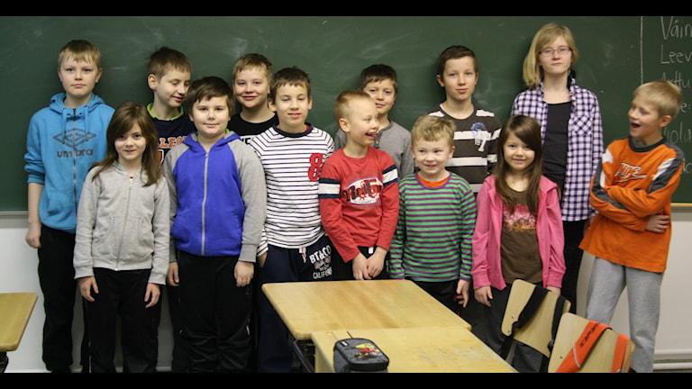 Vaattojärven alakoulu Kolarin kunnassa.