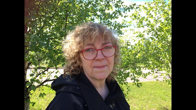 Desiree Waaranperä Krutrök, Kuva: Pia Lakkapää Sveriges Radio