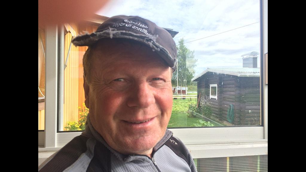 Bengt Niska kallar sig kvän. Foto: Bertil Isaksson/Sveriges Radio