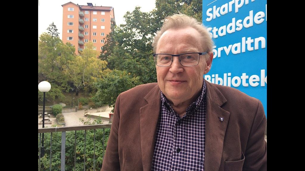 Lars-Gunnar Winsa. Foto: Bertil Isaksson, Sveriges Radio