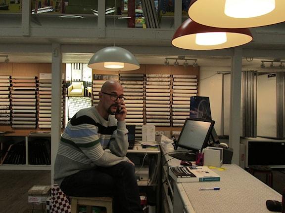 Anders Karvonen, Kuva: Rolf Digervall / Sveriges Radio