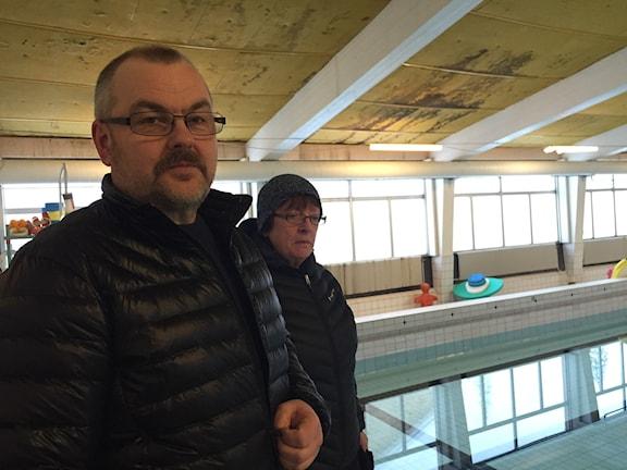 Harry Rantakyrö ja Barbro Rantatalo, Kuva: Pia Lakkapää / Sveriges Radio