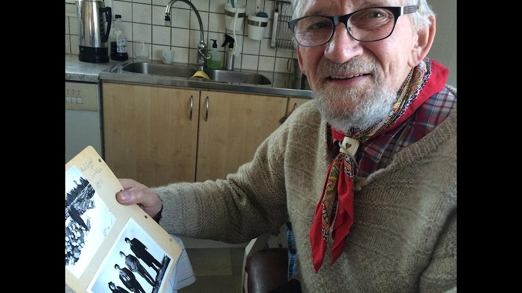 Eilert Kaati fick ett foto på posten som väckte massor av minnen.
