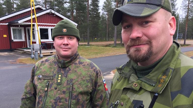 Magnus Förare ja Mikko Kuusisto.