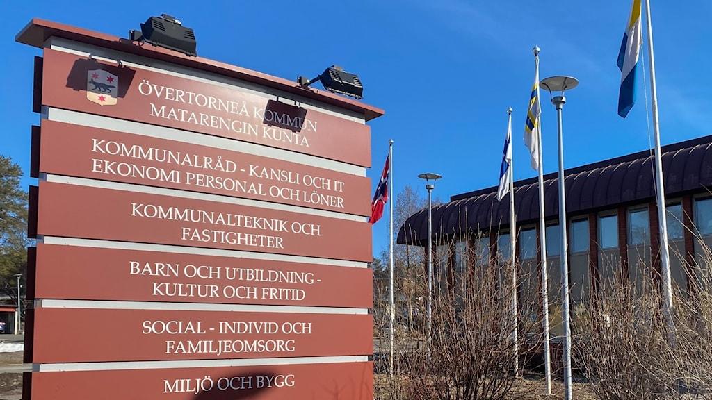 Övertorneå - kommunkontoret