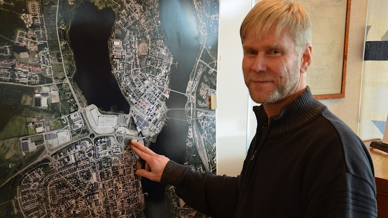 Göran Wigren planerar för att bygga ihop Haparanda och Torneå.