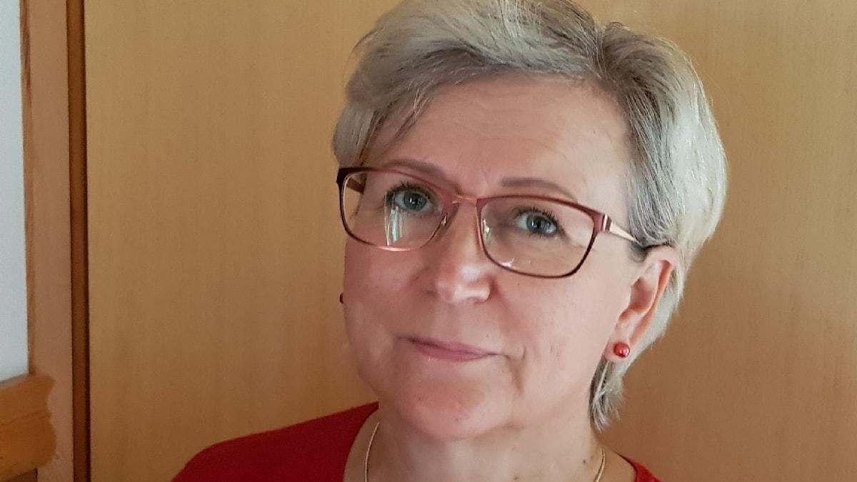 Psykolog Anne Koskenniemi.