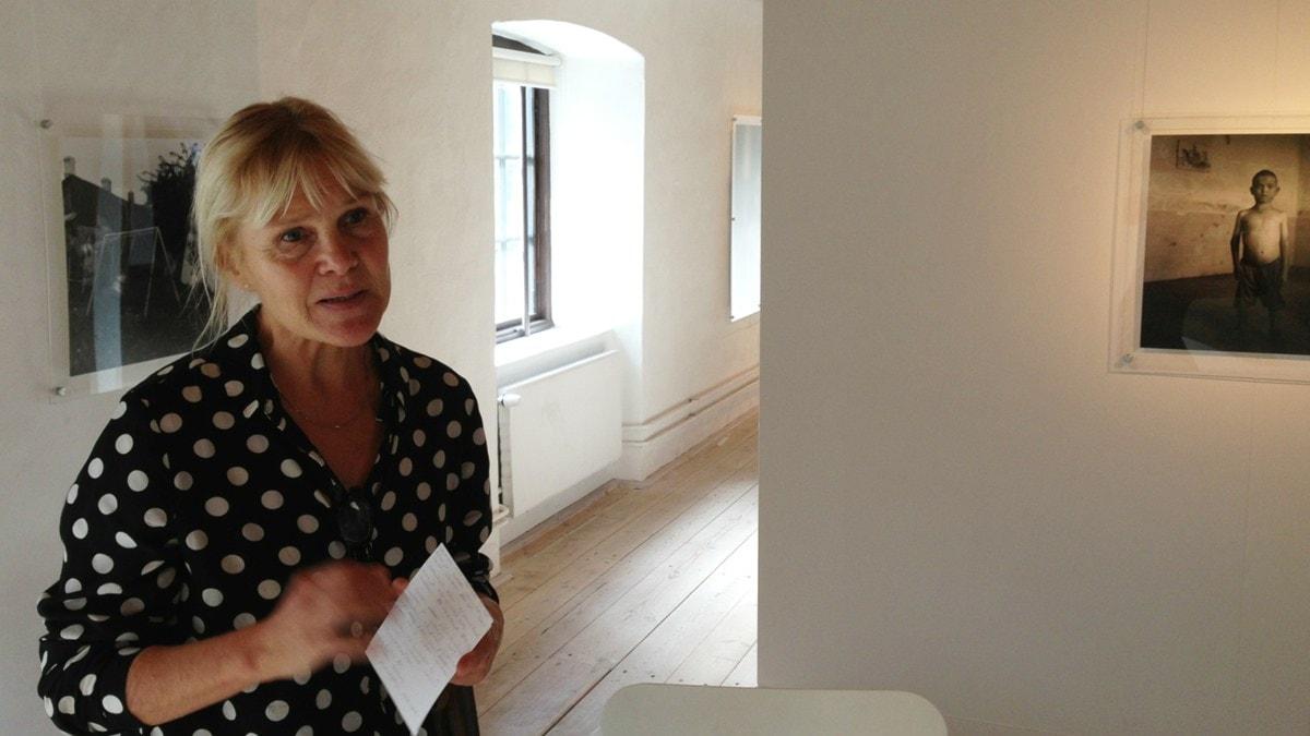 Merja Diaz. Foto: A-L Hirvonen Nyström/SR Sisuradio