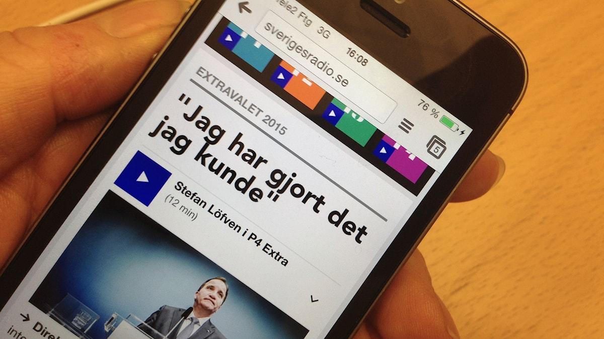 Uusintavaalit maaliskuussa. Kuva: Sanna-Leena Rinne/SR