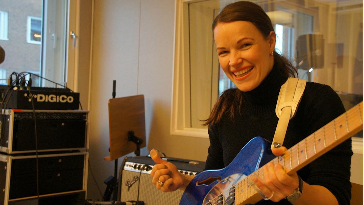 Bluesmuusikko Erja Lyytinen, foto: Pekka Kenttälä SR Sisuradio