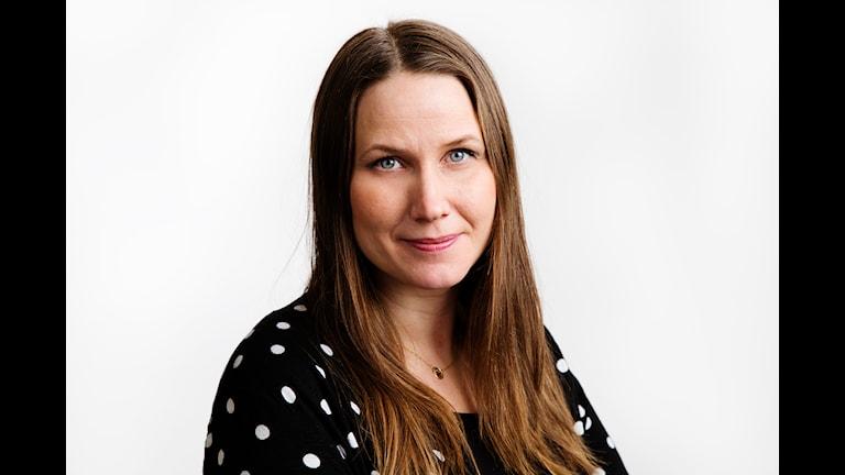 Helena Söderlundh, producent på Naturmorgon. Foto: Martina Holmberg/Sveriges Radio