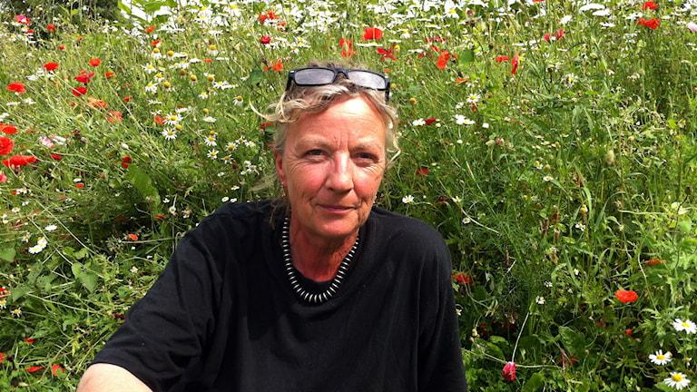 Tina-Marie Qwiberg. Foto: Lisa Henkow/Sveriges Radio.