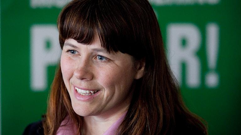 Åsa Romson. Pressbild.