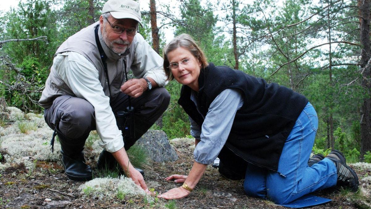 Lennart och Barbro Risberg. Foto: Joacim Lindwall/Sveriges Radio.