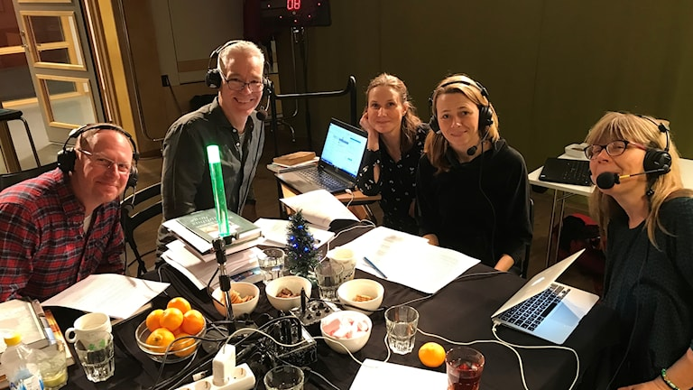 Joacim Lindwall, Mats Ottosson, Helena Söderlundh, Jenny Berntson Djurvall och Jessika Berglund