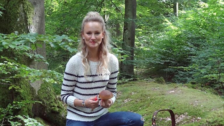 Helena Björnström, svampkonsulent och naturguide