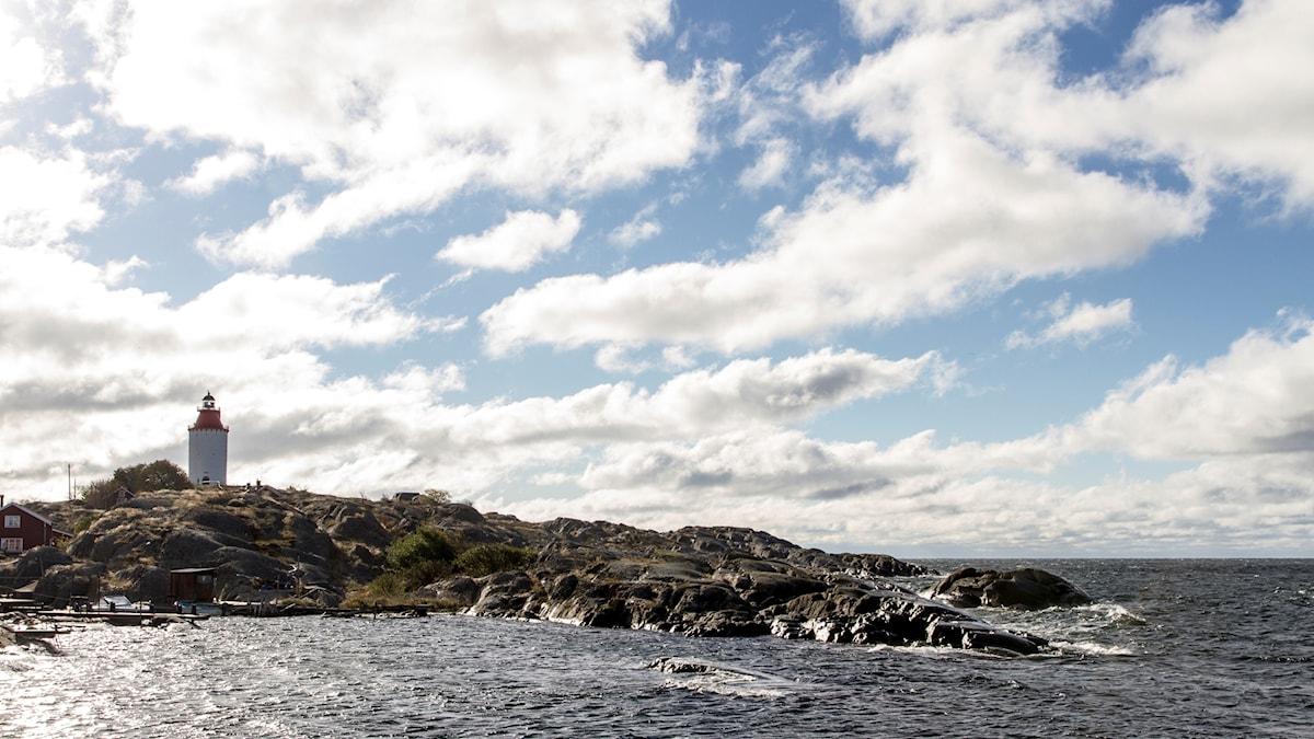 Fyr på klippor, Landsort