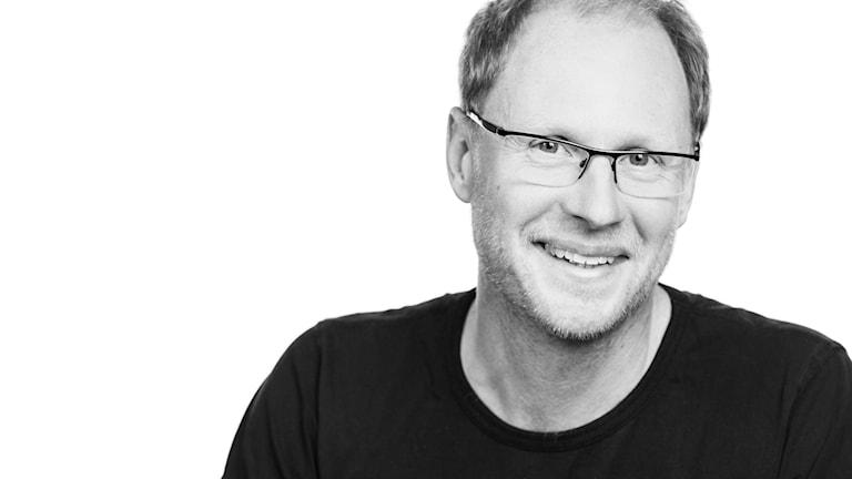 Joacim Lindwall, reporter och programledare för Naturmorgon
