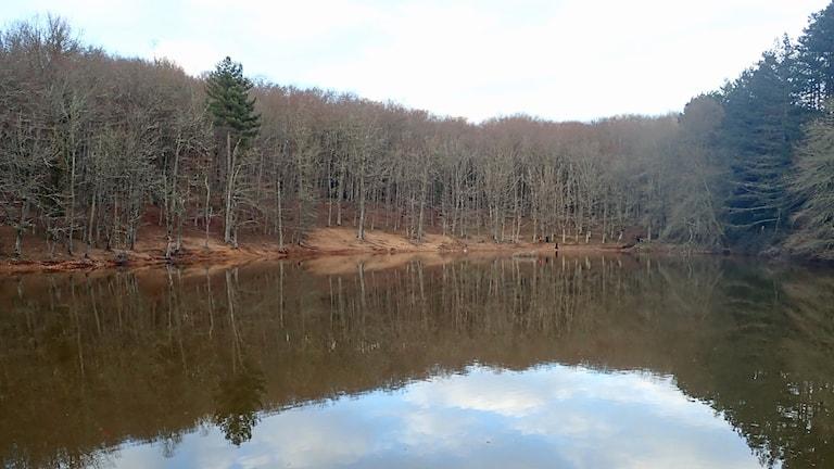 en sjö