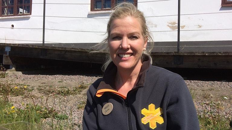 Jessica Berg, föreståndare för Naturum Färnebofjärden.
