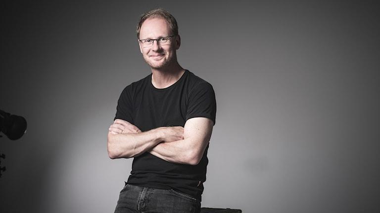 Joacim Lindwall, reporter och programledare på Naturmorgon.