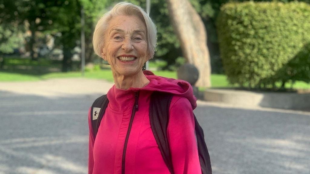 Anita Looström, aka Lady Silver.