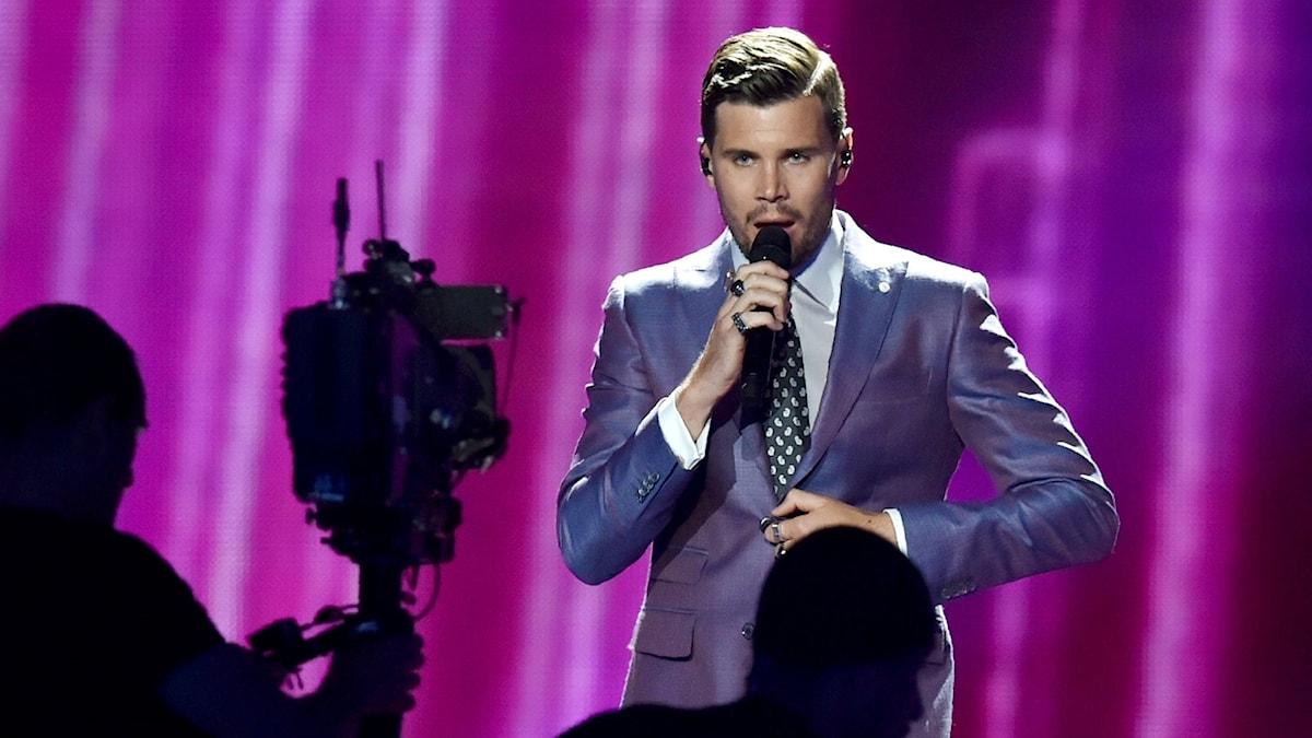 Robin Bengtsson i Eurovision Song Contest