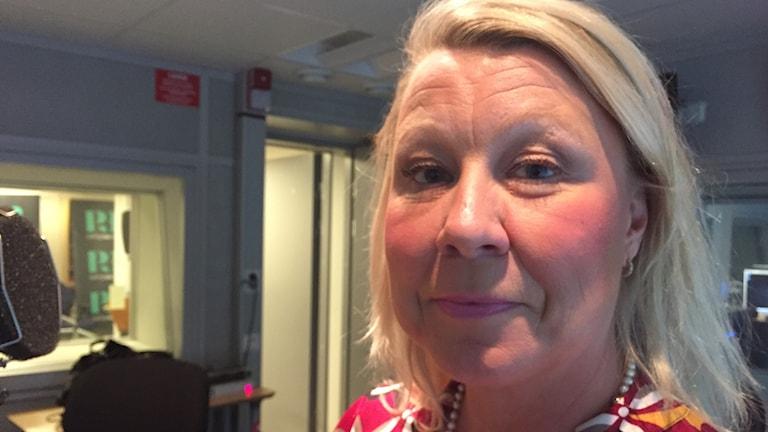 """Tina Hagelin föreläser under rubriken """"Kärlek och sexualitet på äldre dar""""."""