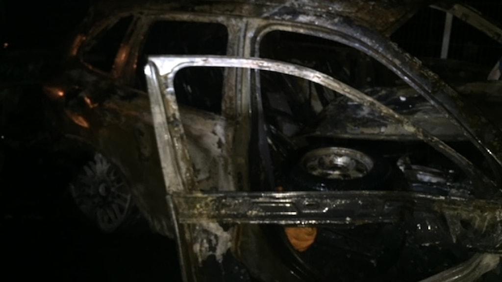 Familjens bil var utbränd när den hittades