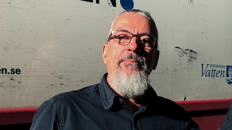 Seppo Laukkanen  vice ordförande i bostadsrättsföreningen Vitklippan på Södermalm.