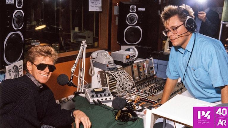 Staffan Dopping i intervju 1986.