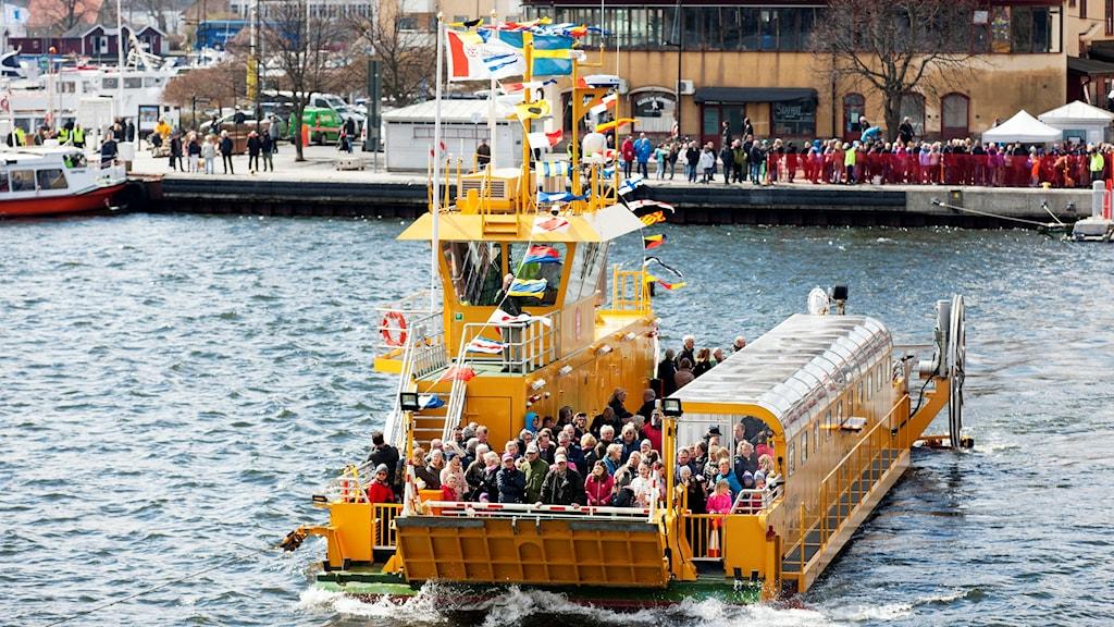 Linfärjan Vaxholm. Foto: Kasper Dudzik