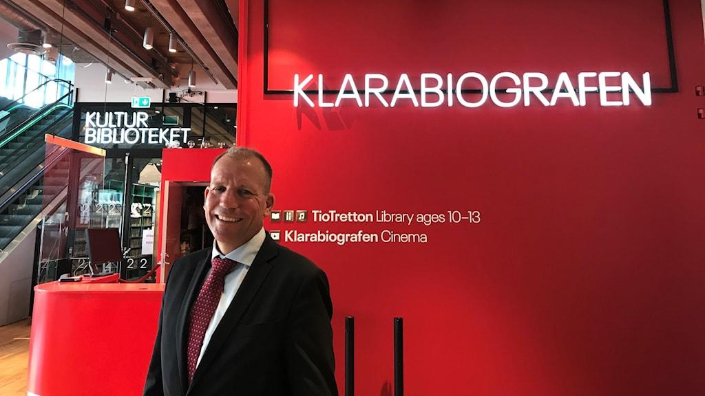 Jesper Larsson, vd för Kulturhuset.