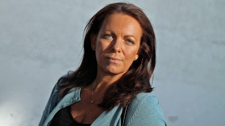 Författaren Katarina Wennstam i P4 Stockholm