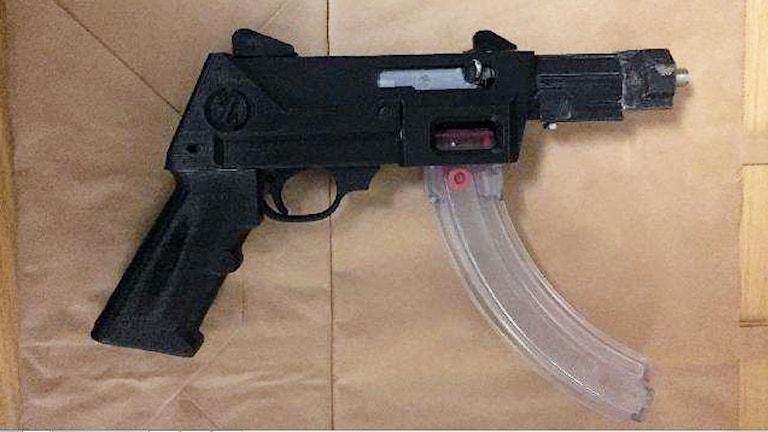 Bild på 3D-vapen