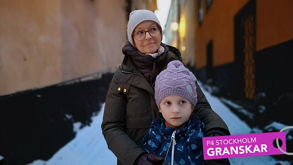Anneli Önneby i Gamla stan.