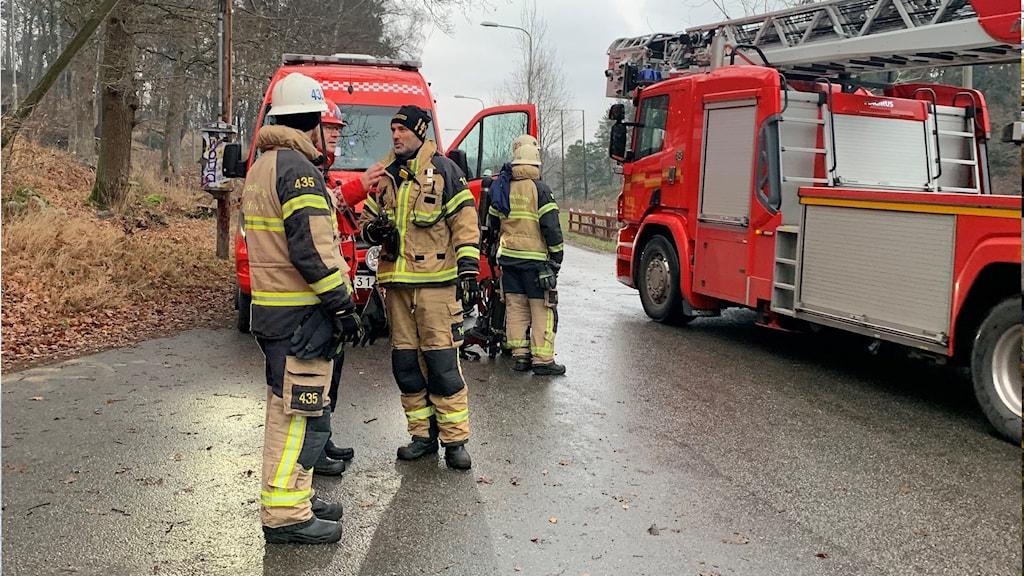 Räddningstjänst vid industribrand
